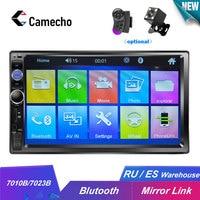 Camecho HD 7 Autoradio 2 Din Car Radio Bluetooth Car Audio Mp5 Multimidio Player 12V Auto Audio Stereo USB SD Rear View Camera