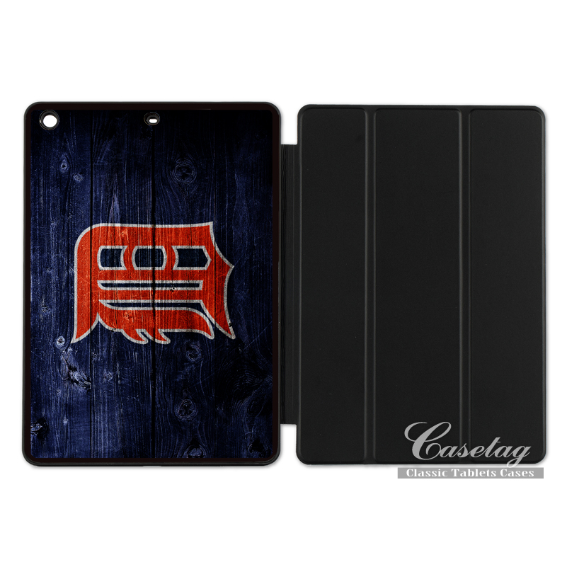 Detroit Tigers Sport Baseball Club Smart Cover Case For Apple iPad 2 3 4 Mini Air 1 Pro 9.7 10.5 12.9 New 2017 a1822