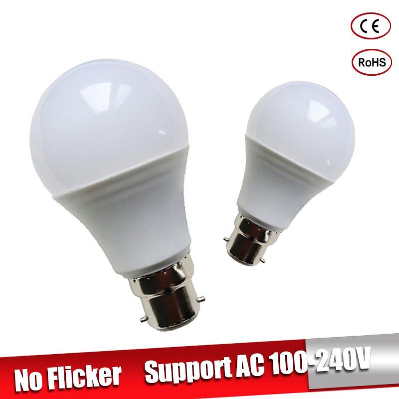 LED Bulb B22 LED Lampada Ampoule Bombilla 3W 5W 7W 9W 12W 15W 18W LED Lamp 220V 110V Cold/Warm White Led Spotlight цены онлайн