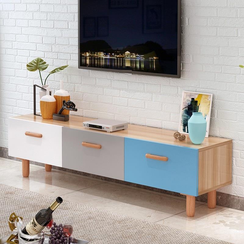 Ordinateur Bureau Ecran Plat Entertainment Center Nordic Wood Table Monitor Stand Living Room Furniture Meuble Tv Cabinet