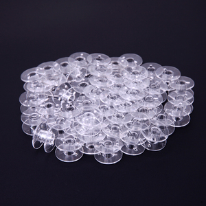 50Pcs/lot Plastic Empty Bobbin