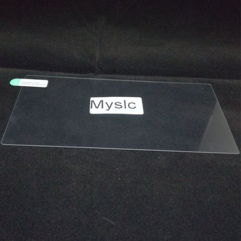 Myslc universal Tempered Glass for Isudar Car Multimedia player For VW/Volkswagen/POLO/PASSAT/Golf FM Radio IPS image
