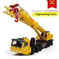2015 Hot sale ! 1 : 55 alloy Sliding construction crane model Toys, children's educational toys, free shipping