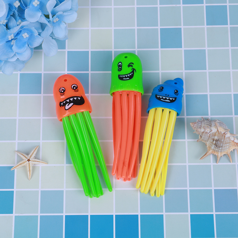 3Pcs New Funny Summer Shark Torpedo Rocket Throwing Toy Swimming Pool Diving Game Toys For Children Dive Dolphin Accessories Toy