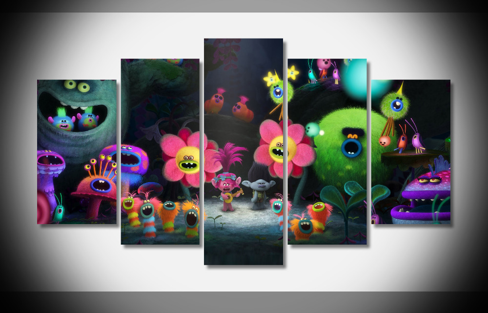 6876 2016 Movie Flower poster Framed Gallery wrap art print home wall decor wall picture Already