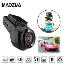 Car DVR Video-Recorder Dash-Cam Rear Camera Vehicle Gps Logger HD1080P Wifi Night-Vision