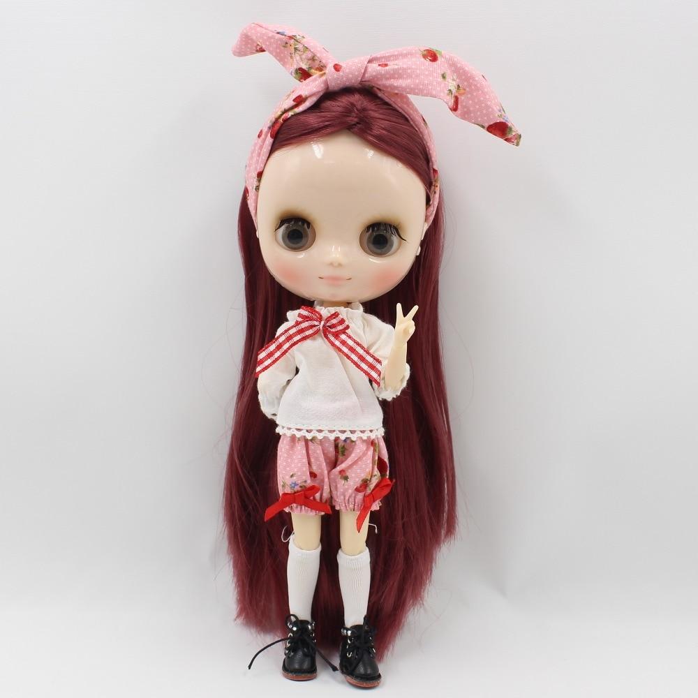 Middie Blythe Doll Pants Shirt HeadDress & Stocking 2