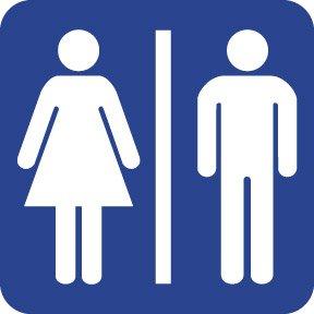 WC/туалет/ванная комната/Туалет знак/знак, 4x4 дюймов, самоклеющиеся этикетки стикер, код продукта PL19