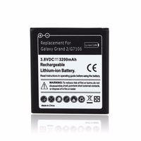2017 New 3200mAh Replacement Li Ion Battery For SamSung Galaxy Grand 2 G7106 Cell Phone Batteria