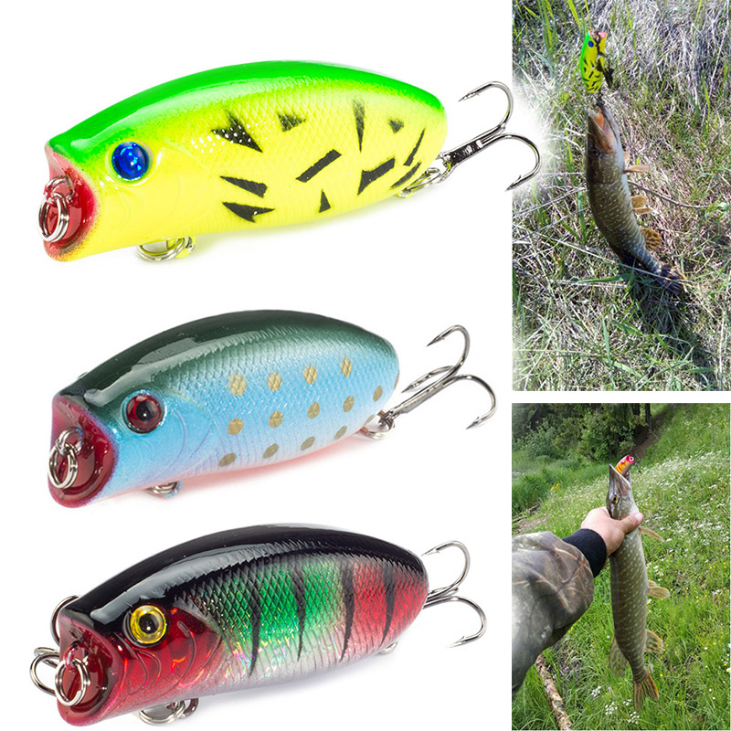 NOEBY Popper Fishing Lures 140mm//40g Topwater Hard Bait France VMC Para Pesca