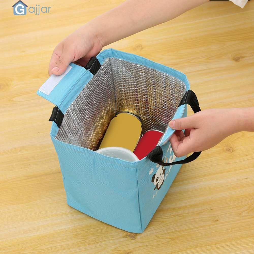 Home Storage Kitchen Office Lunch Box Cute Thermal Insulated Tote Cooler Bag Bento Pouch Lunch Container DropshipingSep12