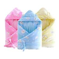 Baby Receiving Blanket Cotton Baby Blankets Newborn Winter Swaddle Wrap
