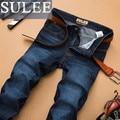 SULEE Brand  Autumn Jeans Men Plus Size 40 42 44 46 48 Designer Cotton Stretch Denim Large Big Size Pants Trousers Jean For Men