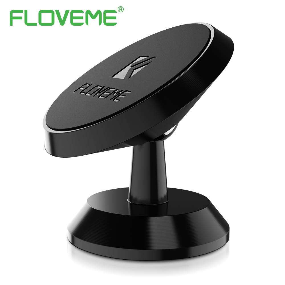 FLOVEME Magnetic Car Holder For Mobile Phone Tablet PC 360 D