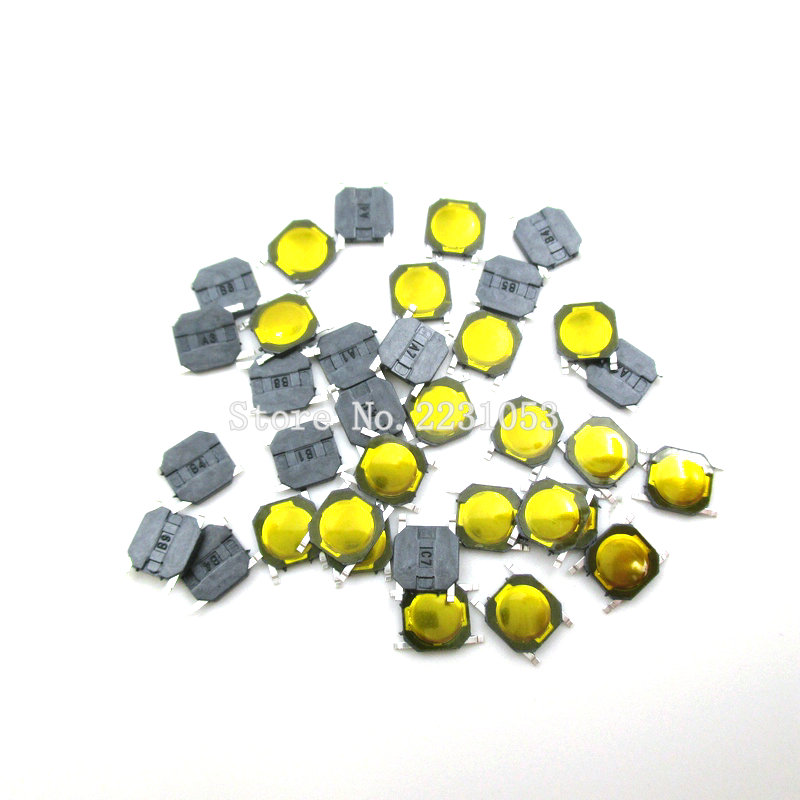 цена на 100PCS/Lot 4*4*0.8 mm Tactile Push Button Switch Tact 4 Pin Switch Micro Switch SMD New Original