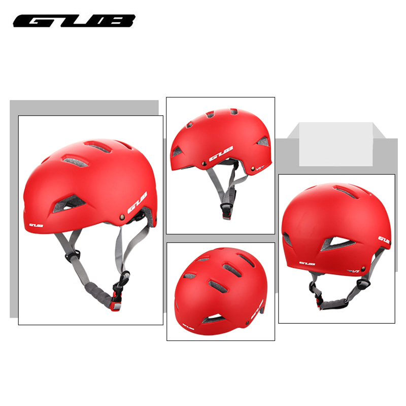 GUB V1 Bicycle Helmets Ultralight EPS PC Adult Highway Mountain Road Bike Riding Skateboard Climbing Rafting Cycling Helmet