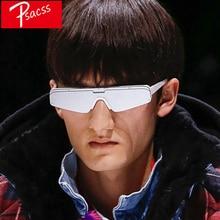 Psacss Cat Eye Sunglasses Men Silver Gray Goggle Brand Designer Mirror Glasses Mens Handsome Sunglass Lunette De Soleil Femme