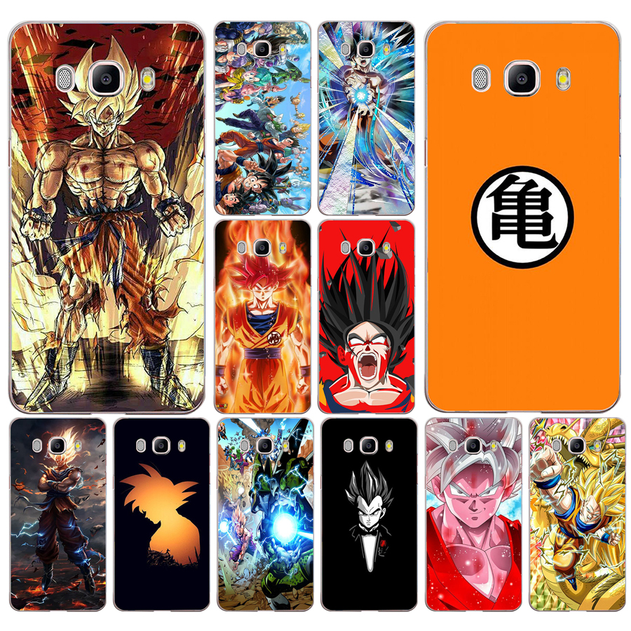 Bright 84df Dragon Ball Goku Hard Transparent Case Cover For Samsung Note 3 4 8 For Galaxy A3 A5 2017 J3 J5 J7 2015 2016 2017 Phone Bags & Cases
