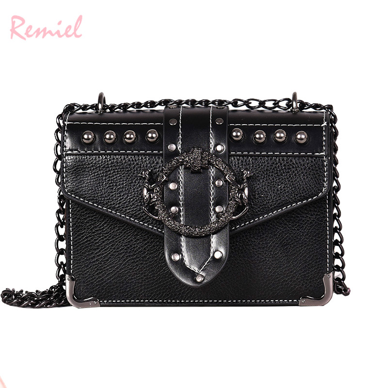 Euro Fashion Rivet Lock Bag 2