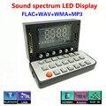 DC7V-12V Спектр Звука AUX Mp3-плеер FLAC WMA WAV декодер аудио доска Fm-радио Неразрушающего Bluetooth 2.1 + EDR Аудио приемник