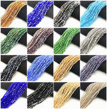 Wholesale 4mm Austrian Bicone Crystal Beads for Jewelry Making Bracelets Diy Accessories Supplies Mix Color Spacer