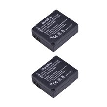 2 Pcs DMW-BLG10 BLE9 DMWBLE9 BLG10 Battery for Panasonic Lumix DMC-GF6 F5 GX7 GX80 GX85 GX7 ZS60 ZS100 Mark II,DMC-LX100 D-Lux