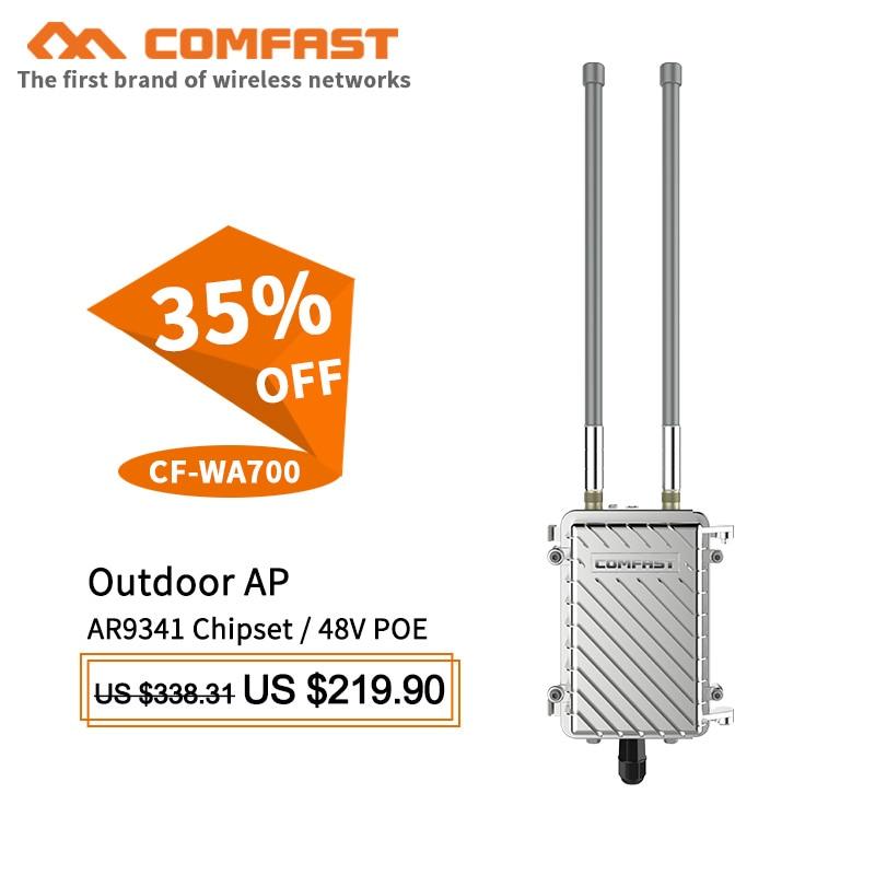 COMFAST CF-WA700 300Mbps חיצוני אלחוטי תחנת AP שטח - חומרה ברשת