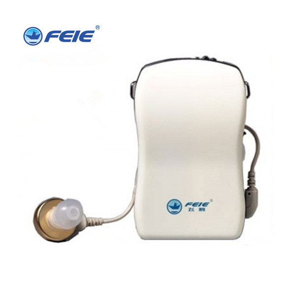 Free Shipping Feie Cheap Pocket Amplifier Hearing Aid China Price Listening Device S-16P 2016 new products cheap china feie brand invisible digital hearing aid audiofone amplificador de surdez s 10a audifono with a10