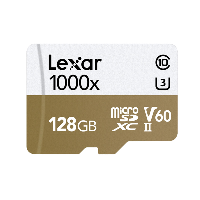 Image 2 - Original Lexar tarjeta Micro SD Card 128GB UHS II U3 Max 150MB/s car TF Flash Memory cards Class 10 for Drone Sport Camcorder-in Micro SD Cards from Computer & Office