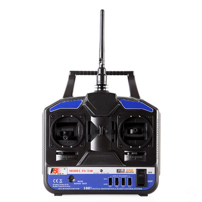 ФОТО Flysky FS 2.4G 4CH FS-CT4B FS-T4B Radio RC RC Helicopter Airplane Remote control Transmitter & Receiver Free Shipping