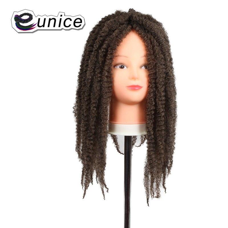 Marley Braids Hair Extension Synthetic Ombre Afro Kinky Crochet Kanekalon Braiding Hair (3)