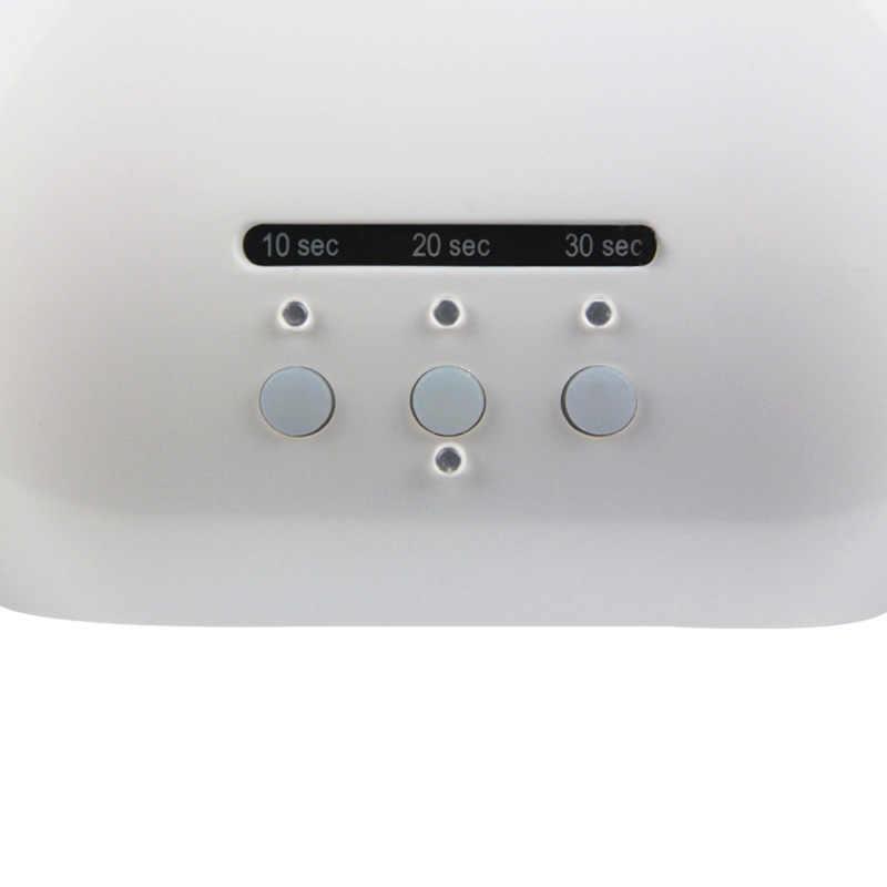 Mshare 48 Вт Сушилка для ногтей 48 Вт УФ светодиодные лампы для ногтей с интеллектуальный таймер Невидимый Цифровой таймер Дисплей с вентилятором + USB интерфейс светодиодные лампы для ногтей
