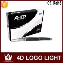 Tcart For Chevrolet 4D Car Emblem light lamp 4D led Rear Badge Sticker light 17*5.5cm LED light 4D logo light Emblems led