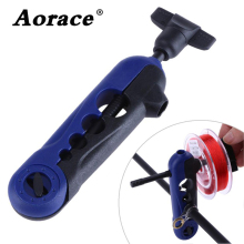 Plastic Adjustable Fishing Line Spooler Portable Universal clips on all Sizes Rod Bobbin Reel Winder Board Spool Line Wrapper