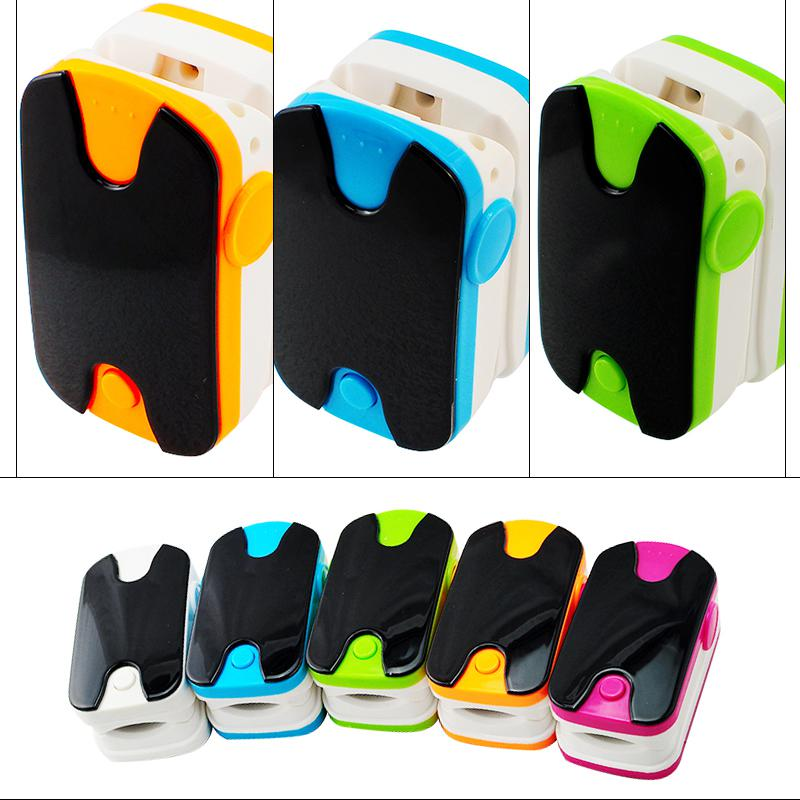 2017 On Sale OLED Finger Pulse Oximeter Home Care 100pcs SpO2 saturation oximetro Wear-proof with Retail Box
