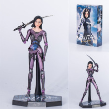 GZTZMY 25CM new Film Alita Battle Angel Action Figure Alita PVC Action Figures toy Anime figure Toys For Kids children Christmas