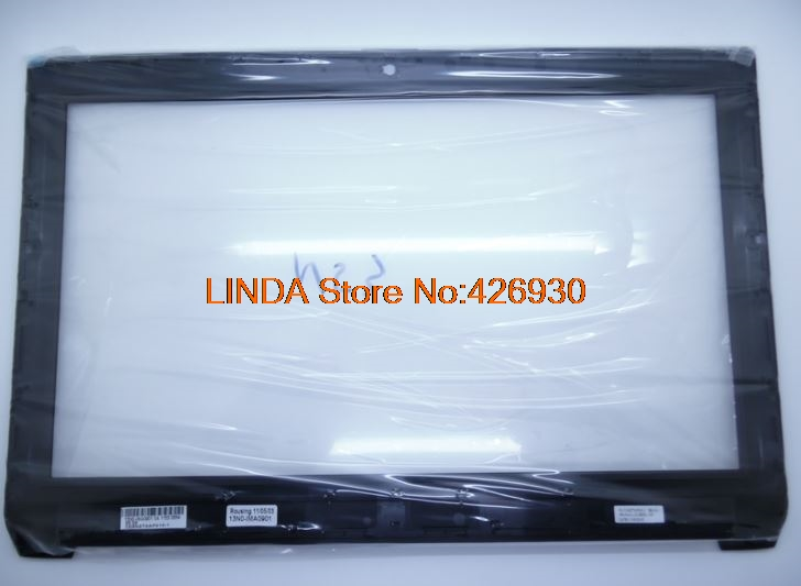 Laptop LCD Front Bezel For Asus N53 N53DA N53J N53JF N53JG N53JL N53JN N53JQ 13N0-IMA0901 0A 13GNZT3AP010-1 laptop lcd front bezel for asus g60j g60jx g60vx