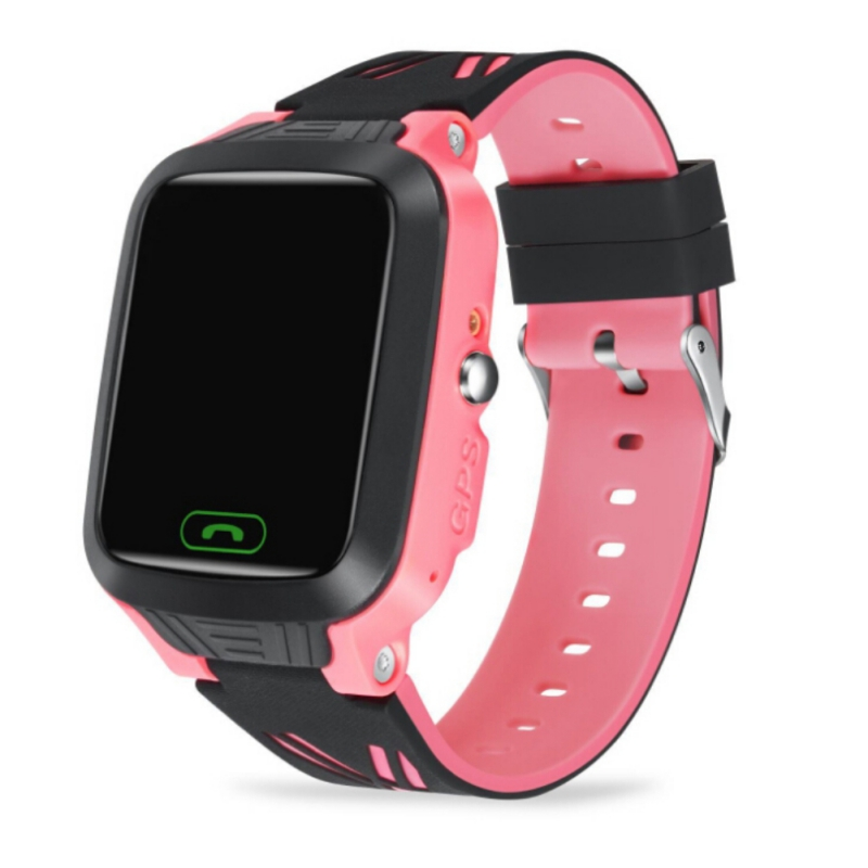 Kids Smart Watch IPS Touch Screen GPS Children 2G SIM Calls Chat Anti-lost SOS Remote Safety Monitor For Android IOS Baby Gift