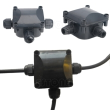 IP 68 Waterproof Protection Building DTY Connectors 3 Cable Wire Junction Box