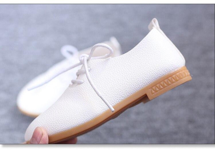 Suaves Sapatos de Couro PU Apartamentos Casuais