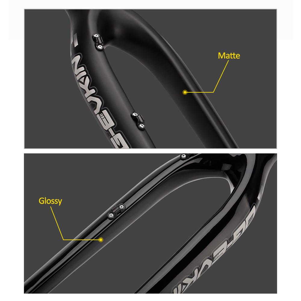 OG-EVKIN 29er Carbon Downhill Fork MTB Bicycle Front Fork 1-1/8