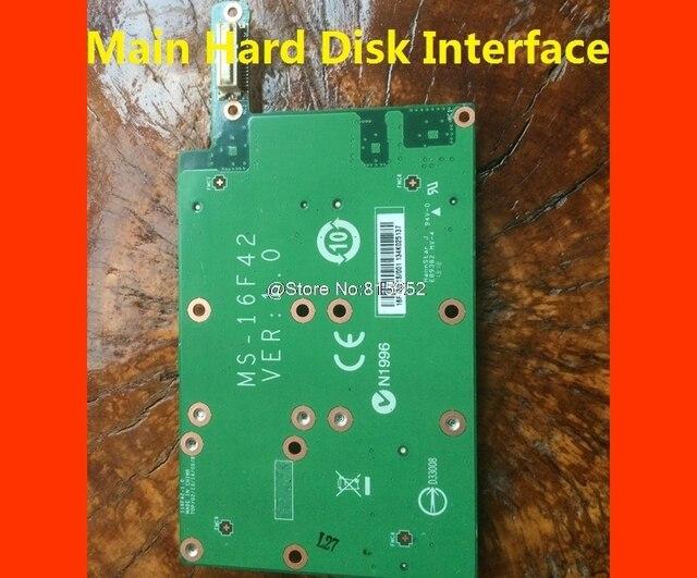 The Main Hard Disk Interface & Vice Hard Disk Interface For MSI MS 16F2 MS 16F3 MS 16F4 MS 1761 MS 1762 MS 1763 MS 16F42 98% New