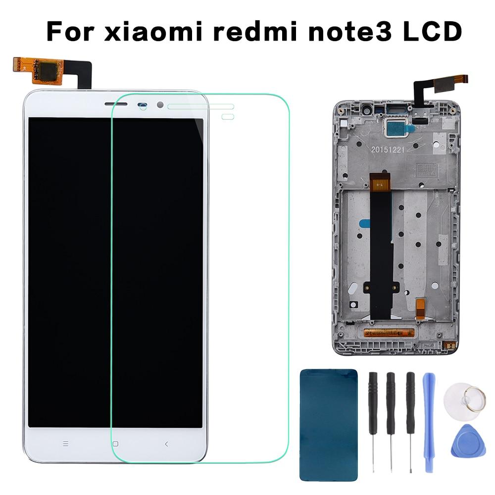 146mm para xiaomi red arroz hongmi redmi Note3 nota 3 pro/redmi nota 3/Prime pantalla LCD + pantalla táctil digitalizador Asamblea