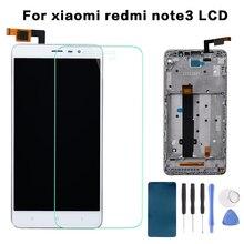 Дешевые Процессор Mediatek Helio X10 Восьмиядерный Note3 5,5 «Дисплей для XIAOMI Redmi Note 3 ЖК-дисплей Сенсорный экран планшета с кадра заменить