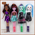 4 Pcs Original Dolls Toys Fashion Classic Removable Joint Dolls Good Quality Kids Toys For Girl Toys Gift For Children