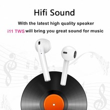 In Ear I7S TWS Bluetooth Earphones true wireless Earbuds headphones sport headset stereo For iPhone xiaomi huawei pk i10s i9s(China)