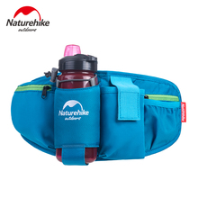 NatureHike Factory Sell Walking Running Cycling Waist Belt Packs Waist bag with Water Bottle Holder for Smartphone Key Money
