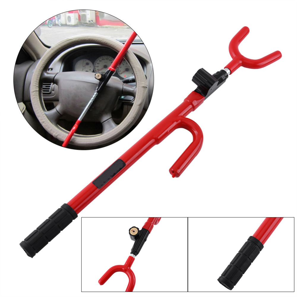 antirobo volante Universal Car Steering Wheel Anti-theft Lock Auto for Car Truck Security Wheel Lock antivol volant voiture
