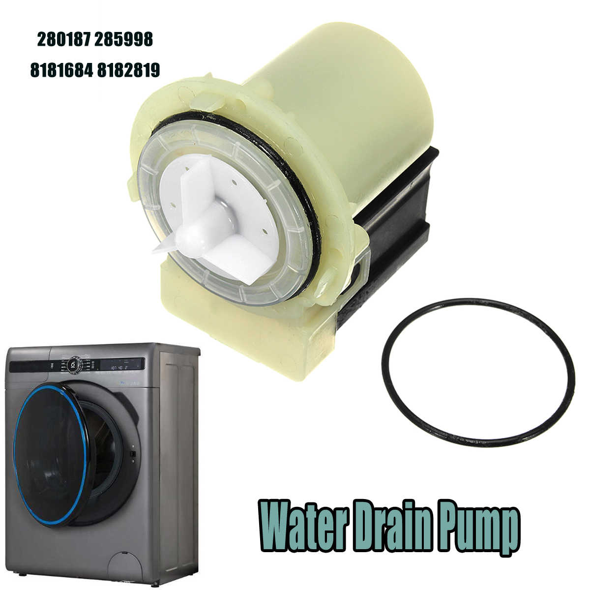 Water Drain Pump For Whirlpool Kenmore Maytag 280187 285998 8181684 on