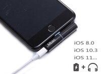 Зарядки аудио конвертер адаптер для iphone 8 х 3.5 мм наушников Aux наушники гарнитура для iPhone 7 Plus для зарядное устройство музыка